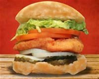 23. Crispy Chicken Burger