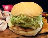 34. Spicy BAJA Chicken Burger
