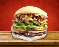 33. Turkey Tex-Mex Burger