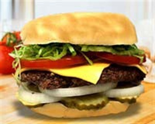 1. Classic Cheese Burger